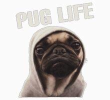 Pug Life Funny Baby Tee