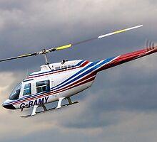 Bell 206B-2 Jetranger II G-RAMY by Colin Smedley
