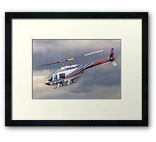 Bell 206B-2 Jetranger II G-RAMY Framed Print