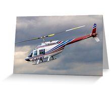 Bell 206B-2 Jetranger II G-RAMY Greeting Card