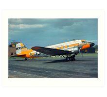 Douglas AC-47D Skytrain 43-48892 Art Print