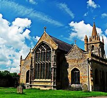St Lawrences Church, Worcestershire, England, UK. by ScenicViewPics