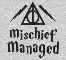 Mischief Managed by Fitspire Apparel