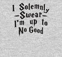 I Solemnly Swear I'm Up To No Good Womens Fitted T-Shirt