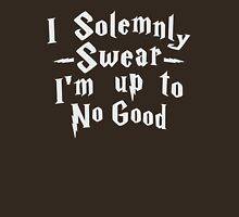 I Solemnly Swear Im Up To No Good Womens Fitted T-Shirt