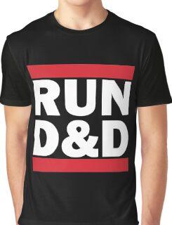 RUN D&D - classic Graphic T-Shirt