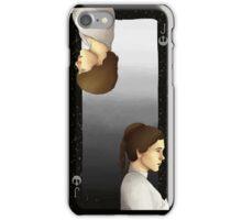 Luke and Leia Playing Card iPhone Case/Skin