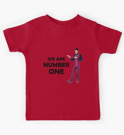 We Are Number One Kids Tee
