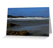 Anagry Beach, Co Donegal. 4 Greeting Card