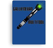 Dr Who - Gallifreyan MultiTool Canvas Print