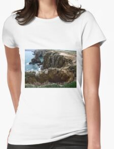 The Hole In The Edge Of The World. Womens Fitted T-Shirt