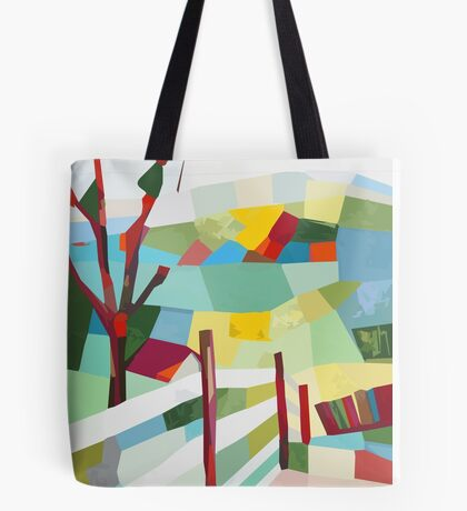 Fancy Fence Tote Bag