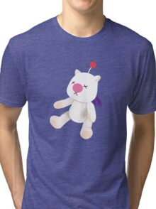 Moogle Doll - [FFX Style] Tri-blend T-Shirt