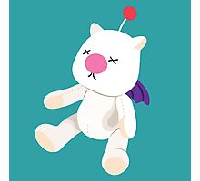 Moogle Doll - [FFX Style] Photographic Print