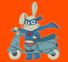 Be-All-You-Can-Be Bunny Rides in to Save the Day Kids Clothes