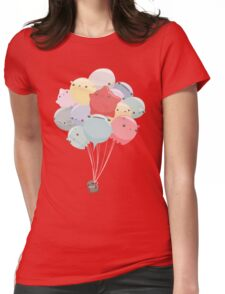 Balloon Animals Womens Fitted T-Shirt