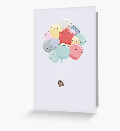 Balloon Animals Greeting Card