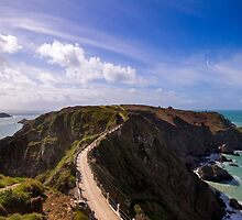 La Coupee on Sark  by chris2766