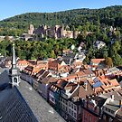Heidelberg Castle & Rooftops by John Sharp
