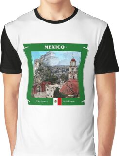 Mexico - The Aztecs Ruled Here Graphic T-Shirt