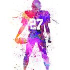 quarterback american football player man by paulrommer