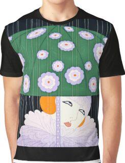 """Art Deco Design by Erte """"Phoenix Triumphant"""" Graphic T-Shirt"""