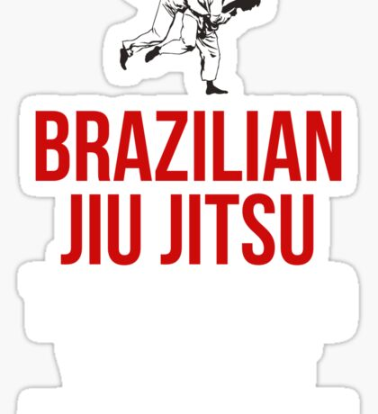 Brazilian Jiu Jitsu Touch Me And Your First Lesson's Free Sticker