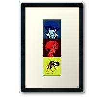 Bebop Champloo Dandy mashup Framed Print