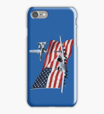 US Flag Aith A10's iPhone Case/Skin