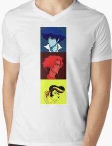 Bebop Champloo Dandy mashup Mens V-Neck T-Shirt