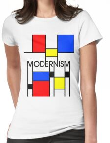 Modernism Womens Fitted T-Shirt