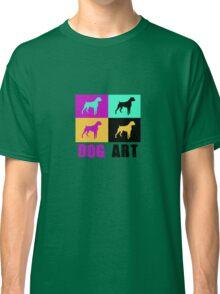 Dog Art Cute Boxer Modern Art Classic T-Shirt