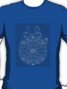 Millennium Falcon kaleidoscope T-Shirt