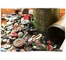 Once upon a time, there were Buttons! Poster