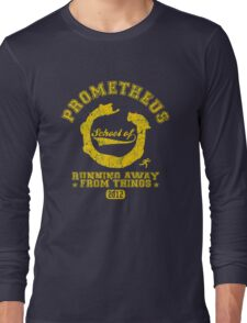 School of running away from things Long Sleeve T-Shirt