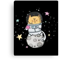 M. Tomcat over the moon Canvas Print