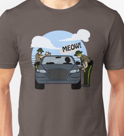 Do I look like a cat, boy? Unisex T-Shirt