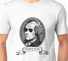 Alexander Hamilton TShirt Headphones and Sunglasses Unisex T-Shirt