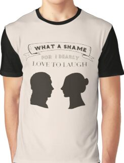 I dearly love to laugh Graphic T-Shirt