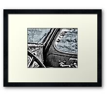 Car back to the Past Framed Print