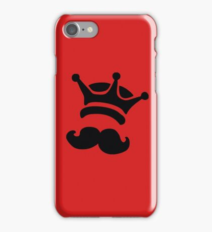king of swag crown iPhone Case/Skin