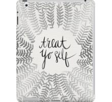 Treat Yo Self – Silver iPad Case/Skin
