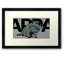 Fifty shades of Appa Framed Print