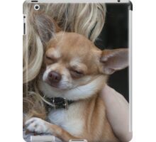 Charlie Enjoying A Hug iPad Case/Skin