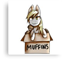 Muffins Canvas Print