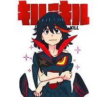 KILL LA KILL - WE CAN BE AS ONE Photographic Print