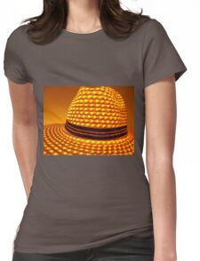 Illuminating Hat Womens Fitted T-Shirt