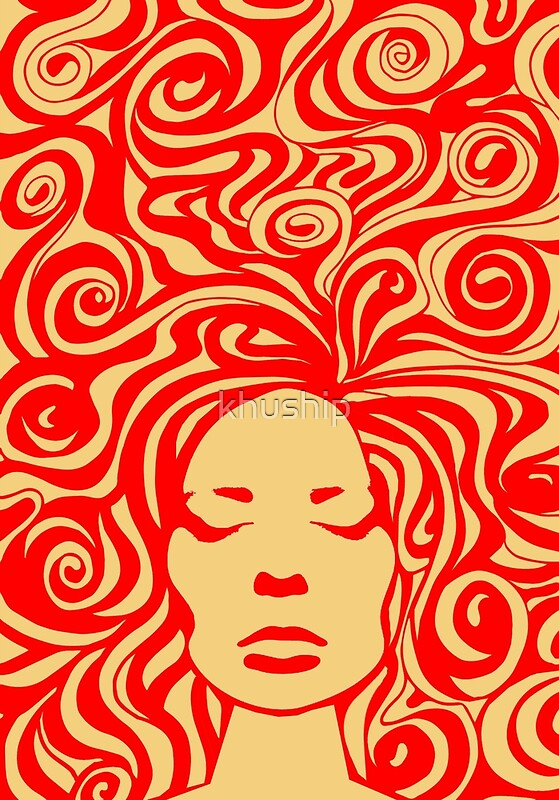 60s psychedelic posters by khuship redbubble
