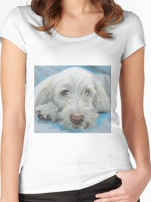 SPINONE SIESTA Women's Fitted Scoop T-Shirt
