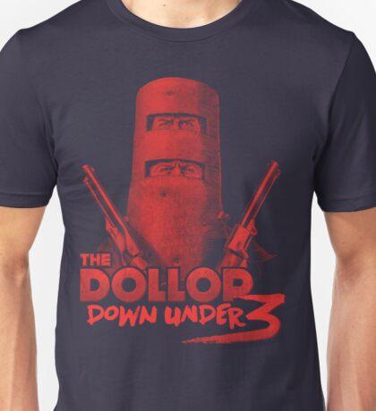 DOLLOP Down Under 3 (RED) Unisex T-Shirt